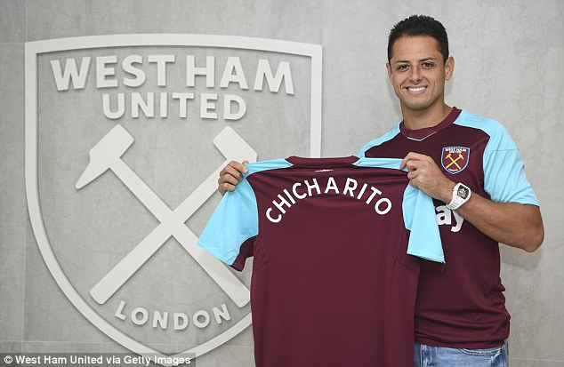 West Ham snapped up striker Javier Hernandez from Bayer Leverkusen on Monday