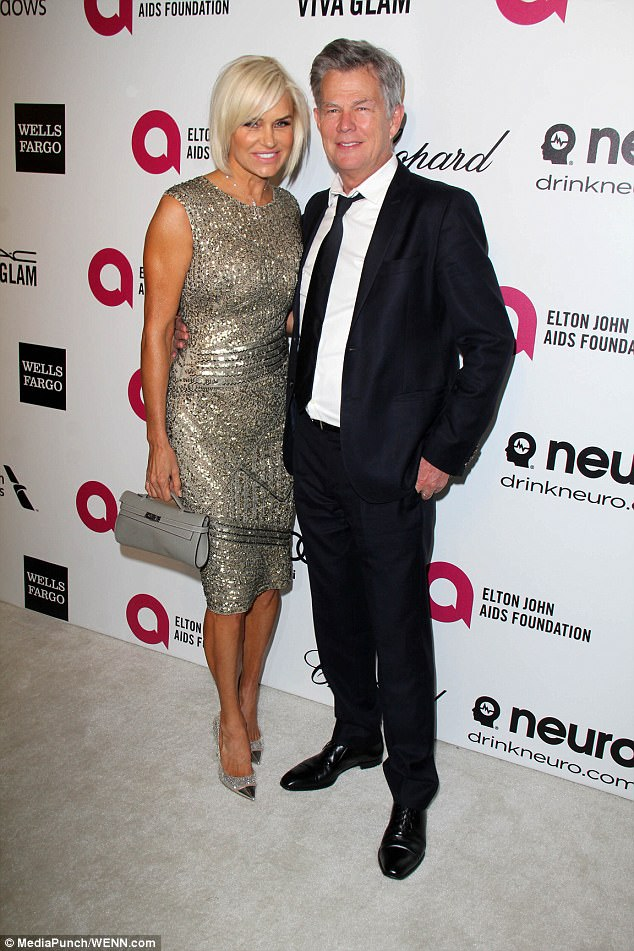 Former flame: David was previously married to supermodel Yolanda Foster, who is the mother to Gigi and Bella Hadid. The couple split in 2015 after nearly five years of marriage