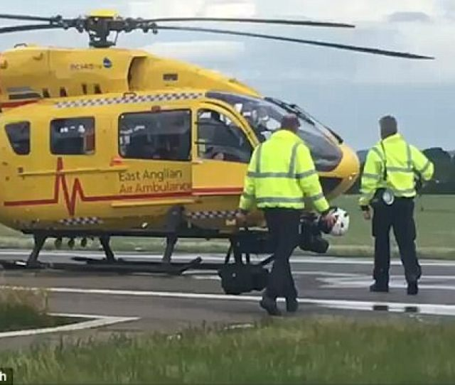 The Heir Has Been Flying Medical Crews To Emergencies Such As Traffic Accidents For About Two