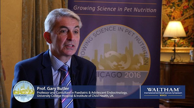 Pictured: Prof Gary Butler, who defended the use of the drugs and said critics did not appreciate the distress puberty can cause transgender young people