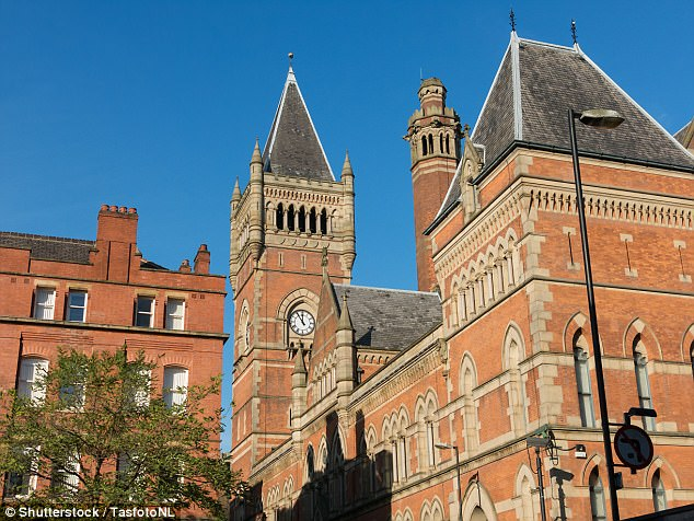 Muhammad said he did not know how the explosive device made it into his luggage, Manchester Crown Court (pictured) heard