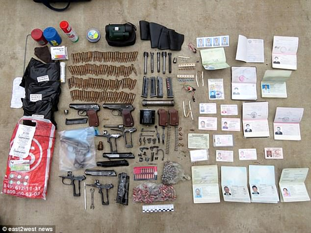A haul from the 'Grand Theft Auto gang' showed that police found dozens of bullets, guns and other weapons