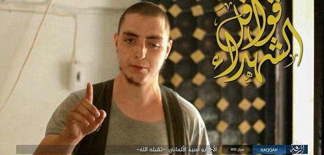A terrifying list of 173 ISIS assassins prepared to carry out attacks in Europe has been found in Iraq. A German was on the list, named as Sami J. (pictured), 27, from Solingen, formerly a leading member of the Islamist group Fillatu Ibrahim