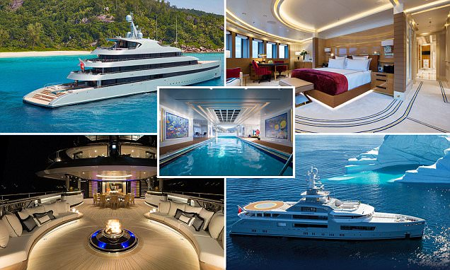 Yacht Charter Fleets Most Lavish Superyachts Revealed
