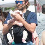 Bradley Cooper,Irina Shayk & Daughter Spotted In LA