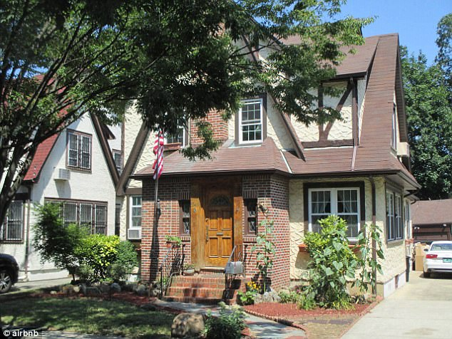 President Donald Trump's childhood home in Queens, New York, is a five-bedroom, 3.5-bathroom property in Jamaica Estates that is advertised on Airbnb for $725 per night starting on Friday