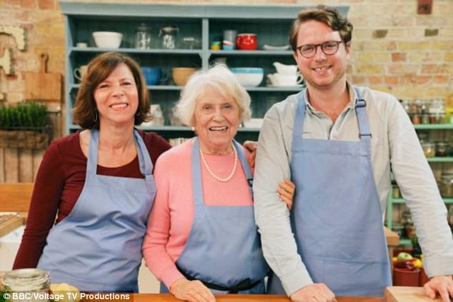 The Markses:Swedish grandmother Torun Marks, 86, is the show's eldest competitor with her daughter Jessica, 55, and 29-year-old grandson Oskar
