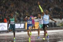 Image result for World Championship: Makwala in 200m final after heat on his own