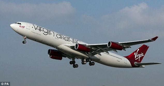 El hombre musulmán fue escoltado fuera del avión de Virgin Atlantic de Londres a Atlanta (imagen del archivo)