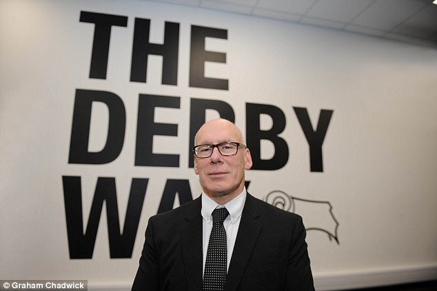 Derby chairman Mel Morris will not be impressed, he claims the rights are worth £300m a year