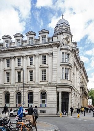 The Bristol Harbour Hotel, a grand, centrally-located former bank