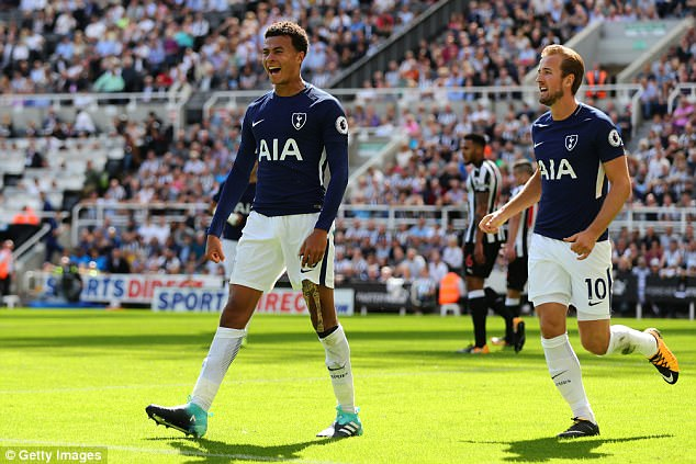 Dele Alli picked up where he left off last season with a well-taken goal for Tottenham