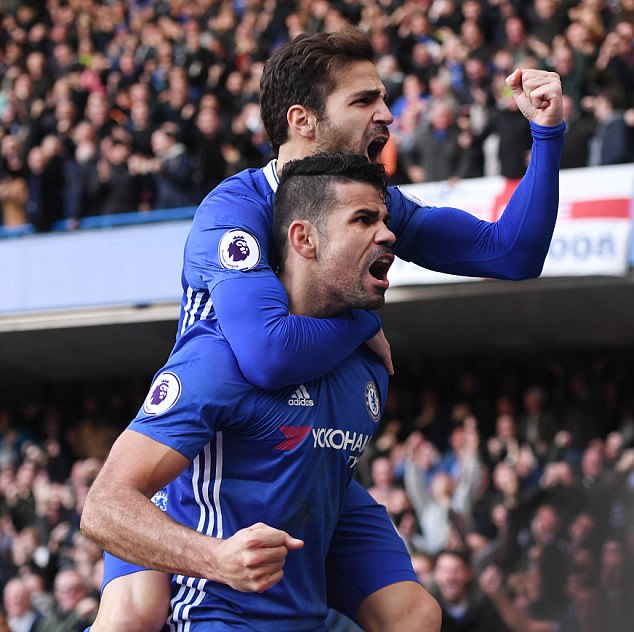 Costa says he gets WhatsApp messages from likes of Cesc Fabregas saying they miss him
