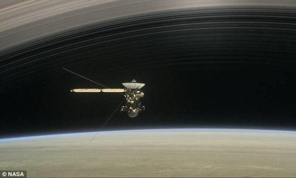 NASA's Cassini embarks on final five orbits around Saturn ...