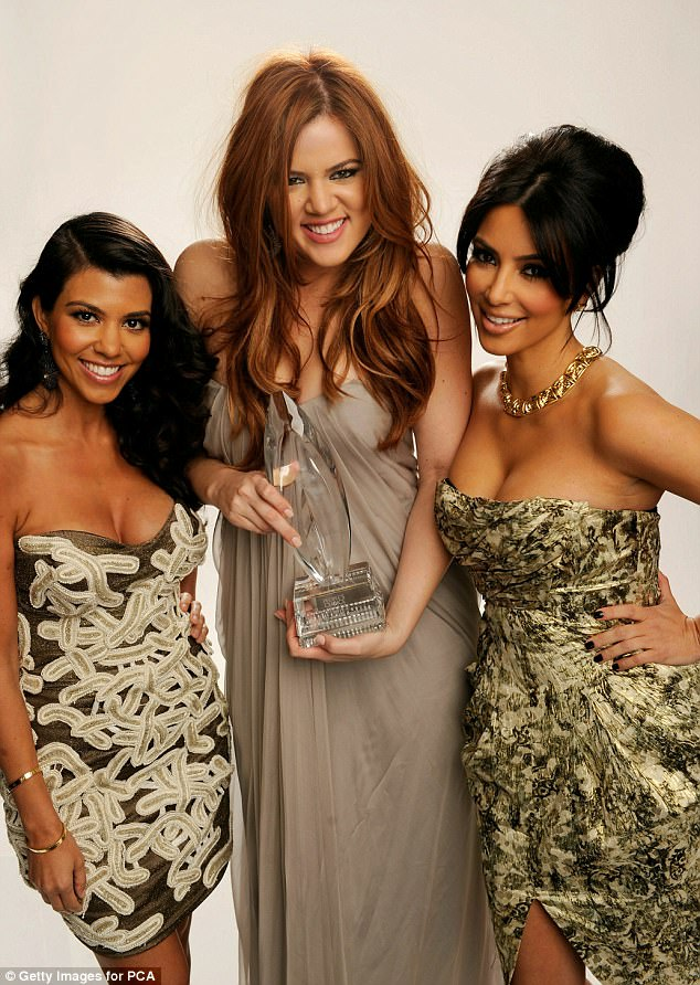 The early years:The family also went into why the show is so popular and which shows no signs of slowing: On September 24, a 90-minute special will celebrate the series' 10th anniversary. Here Kourtney, Khloe and Kim are seen in 2011
