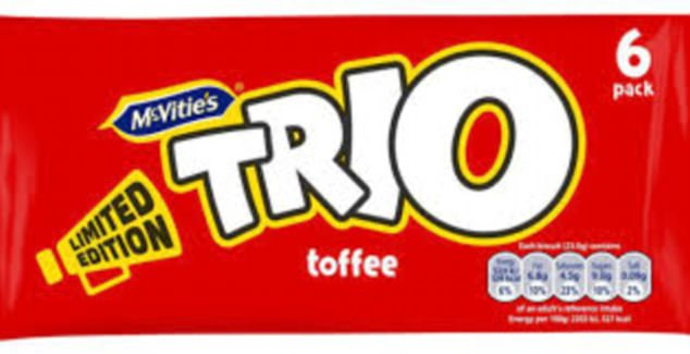 The sorely-missed Trio chocolate bar, which consists of soft toffee, milk chocolate and biscuit, is set to return to our shelves, 13 years after it left them