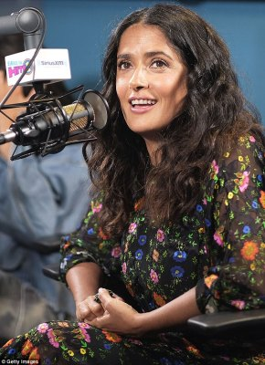 Happy to play grandmas: Salma recently said it woukld be 'boring to play that (sexy) part for the rest of my life'