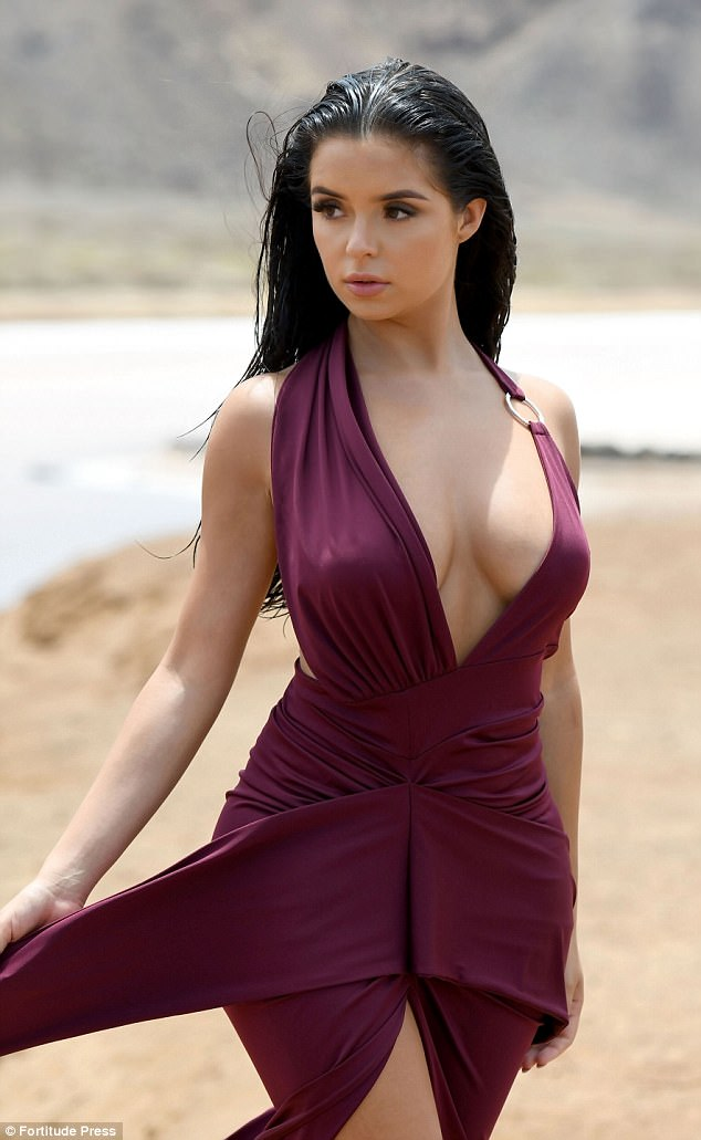 Demi Rose goes braless as she shows her eye-popping assets (Photos)
