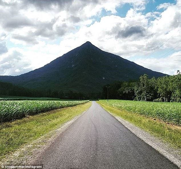 Walsh's Pyramid (pictured), located outside Cairns in north Queensland, is reportedly the site of a man made pyramid that was built by a group of Egyptians who visited Australia in 3000BC