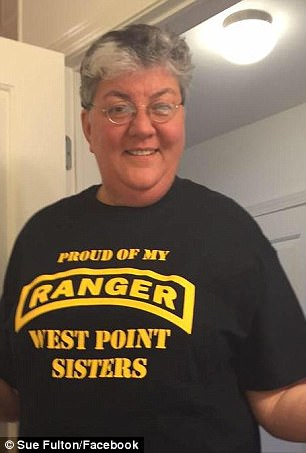 Still ready for action: Ex-Army captain Sue Fulton (pictured) said nothing about trangender people or their ongoing treatment makes them non-deployable