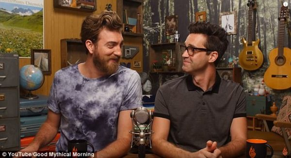 Good Mythical Morning show joint vasectomies on YouTube ...