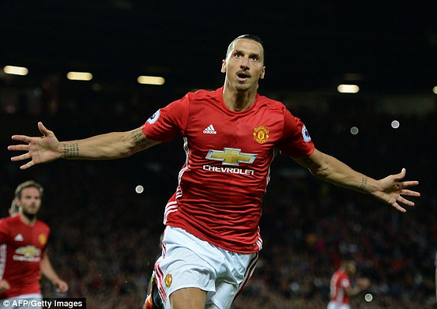 Zlatan Ibrahimovic has touched back down at Manchester United and wants to start games