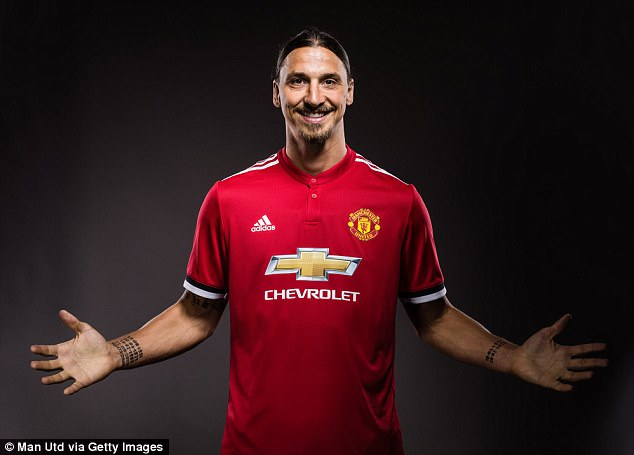 United made a big deal of Ibrahimovic's return and have handed him the No 10 shirt
