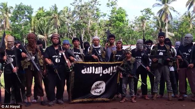 Australia ha estado contribuyendo a la lucha contra ISIS (foto) en el sur de Filipinas, la isla de Mindanao