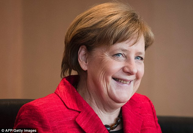 No regrets:German Chancellor Angela Merkel has said she would change nothing about her response to the migrant crisis of 2015