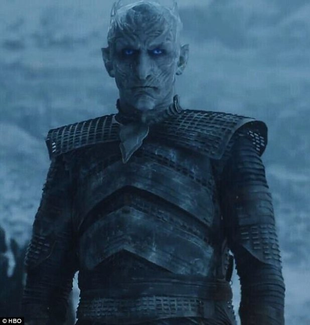 Return of the (Night) King: He destroyed The Wall in the finale that e episode to a record 16.6 viewers on the night, The series has been averaging an astonishing 31 million viewers per episode once live, time-shifted, on-demand and streaming plays are tallied