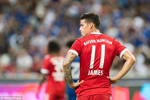 Bayern Munich confirmed the player, who has not played since pre-season, has a thigh injury