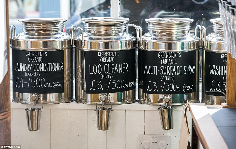 Couple Open UKs First Zero Waste Supermarket In Devon