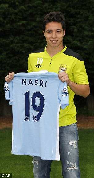 Similarly with Nasri in the same year, but the manager has not learned his lesson