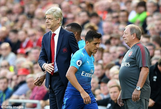 Alexis Sanchez is seeking a move to Manchester City and Wenger should have let him go