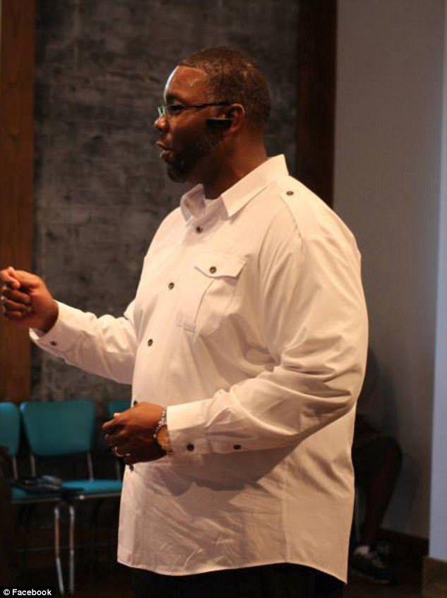 Mentor: Goins had gone from being a gang member and convicted robber to a motivational speaker and mentor to young men in Tennessee