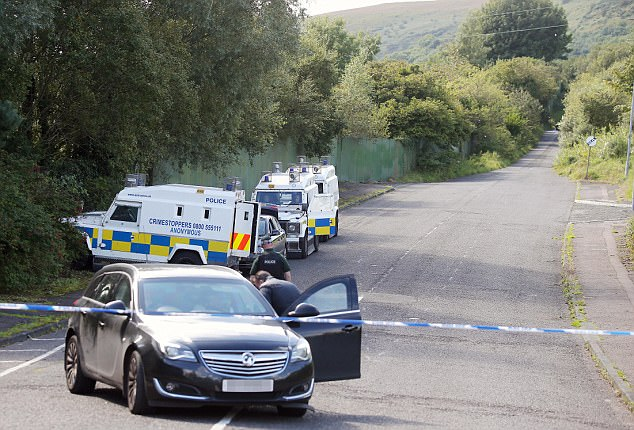 Police searched the Greater Shankill area of the city throughout the night and remain on the scene as the investigation continues