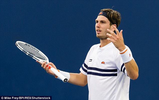 Norrie, ranked No 225 in the world, made nine double faults as he exited at Flushing Meadows
