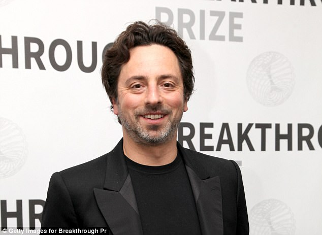 Google co-founder Sergey Brin, 43, also got in on the act this year, attending the launch of the National Academy of Medicine's Grand Challenge in Health Longevity in May