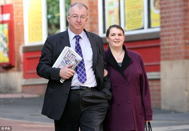 John Hemming (file image with partner Emily Cox) today revealed he was the subject of a two-year probe into historical sex abuse allegations after police and prosecutors dropped the case