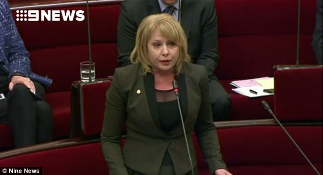 Australian Conservatives MP Rachel Carling-Jenkins has named her ex-husband as a paedophile in a stunning speech in Victoria's parliament
