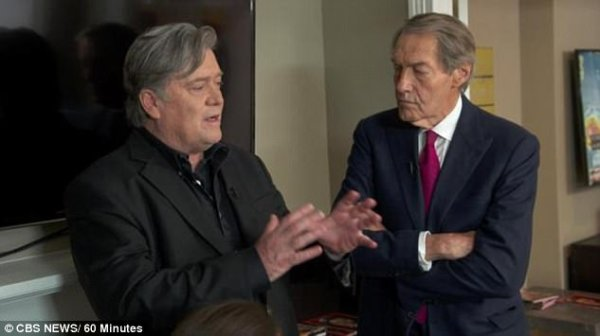 Steve Bannon takes on the media in 60 Minutes interview ...