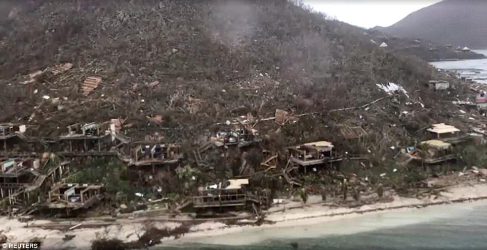 Video Shows Devastation Of Virgin Islands Caused By Irma