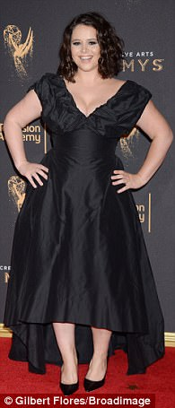 Laverne Cox dons rear-revealing gown at Emmys | Daily Mail ...