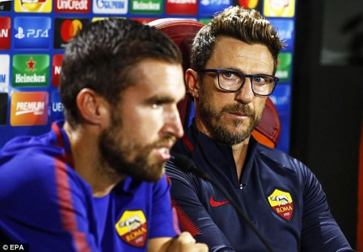 Di Francesco spoke ahead of Roma's Champions League opener against Atletico Madrid