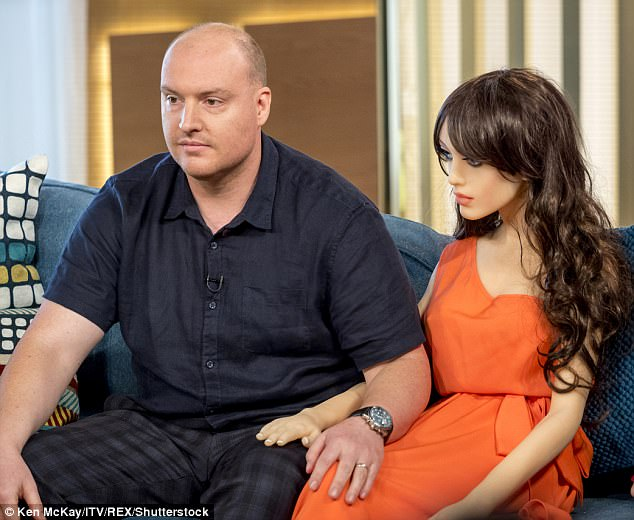 Arran Squire revealed his hyper-realistic sex robot 'Samantha' on This Morning for the first time as he discussed the role she had in his family