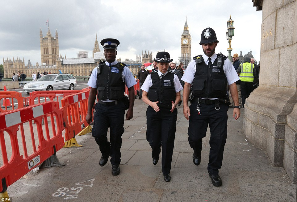 Met Police Commissioner Cressida Dick today said: 'London has not stopped after other terrible attacks and it will not stop after this one'