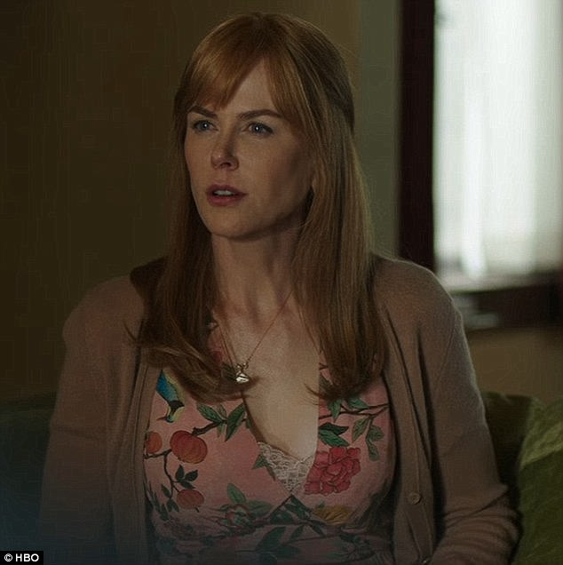 The 50-year-old is in line to win the award for her acclaimed role as abused wife Celeste Wright (pictured) in the seven-part miniseries Big Little Lies