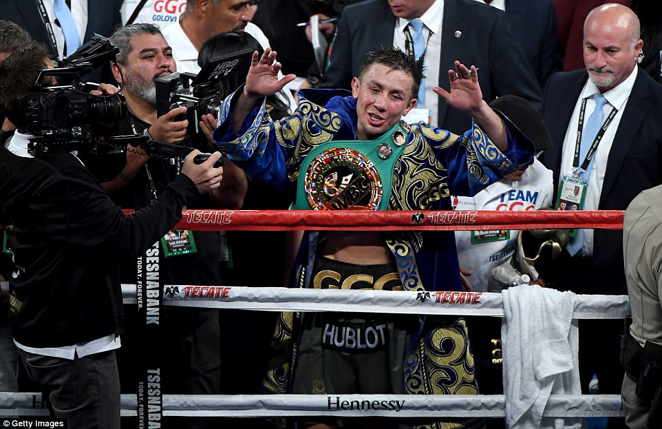 The champion, following the fight's result, said he would support the idea of a rematch with Mexico's Alvarez