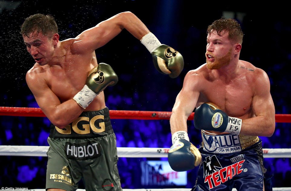 Alvarez did connect with some of his own punches and they did have an effect on Golovkin, who isn't easily rocked