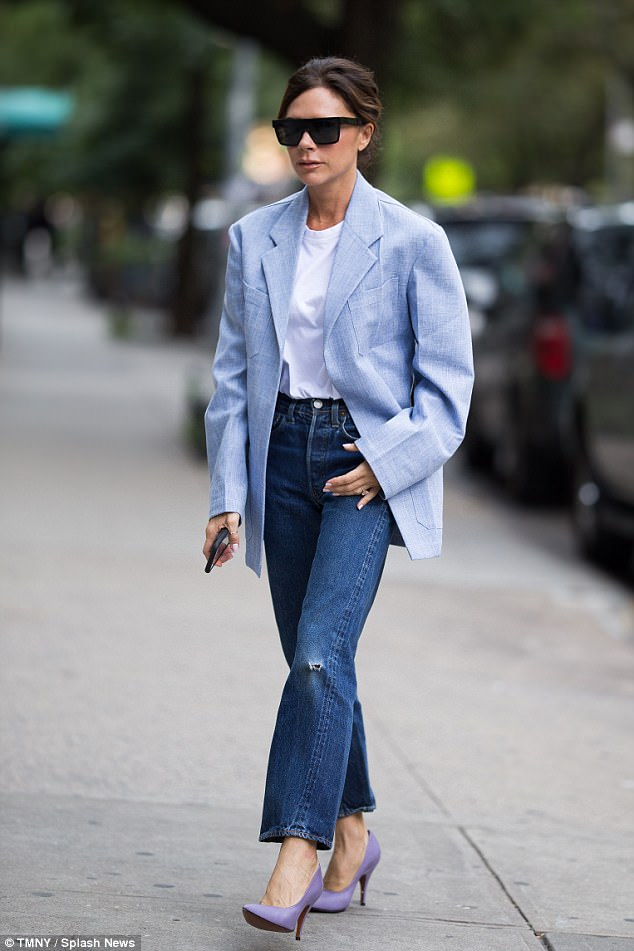 Image result for jeans on oversized blazer